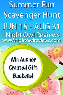 Win Books and Prizes in the Night Owl Reviews Summer Fun Web Hunt