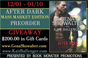 Giveaway: Gena Showalter - After Dark - Mass Market Pre-Order!