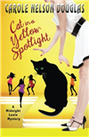 Cat in a Yellow Spotlight